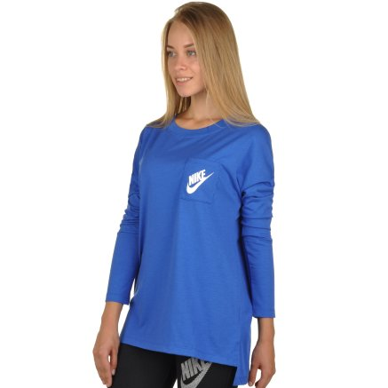 Кофта Nike Women's Sportswear Top - 94396, фото 2 - інтернет-магазин MEGASPORT