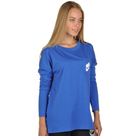 Кофта Nike Women's Sportswear Top - 94396, фото 4 - інтернет-магазин MEGASPORT