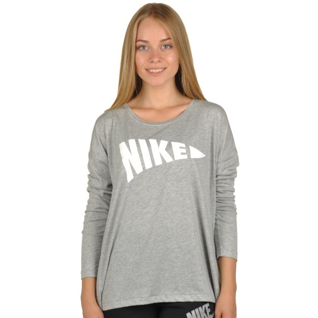 Кофта Nike W Nsw Top Ls - MEGASPORT