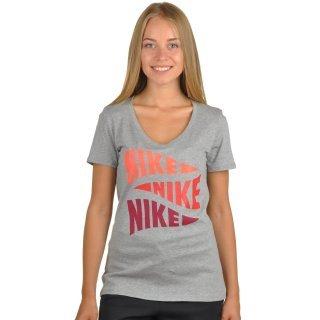 Футболка Nike Tee-V Varsity Pennant - фото 1