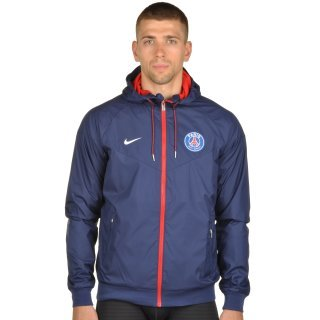 Куртка-вітровка Nike Men's Paris Saint-Germain Authentic Windrunner Jacket - фото 1