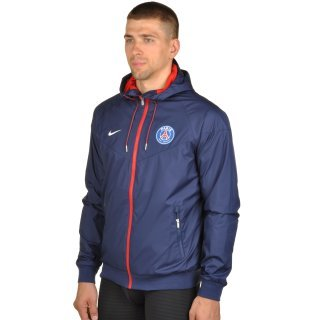 Куртка-вітровка Nike Men's Paris Saint-Germain Authentic Windrunner Jacket - фото 2
