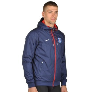 Куртка-вітровка Nike Men's Paris Saint-Germain Authentic Windrunner Jacket - фото 4
