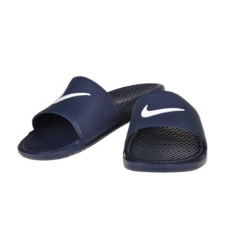 Сланці Nike Men's Benassi Shower Slide Sandal - фото 4
