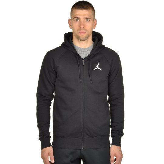 Кофта Nike Men's Jordan Flight Fleece Full-Zip Hoodie - фото