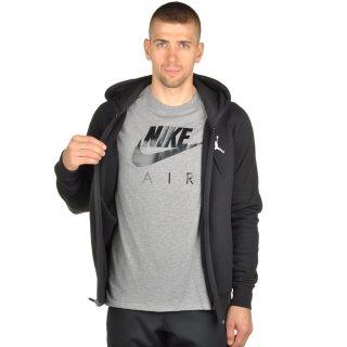 Кофта Nike Men's Jordan Flight Fleece Full-Zip Hoodie - фото 5