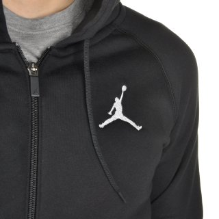 Кофта Nike Men's Jordan Flight Fleece Full-Zip Hoodie - фото 6