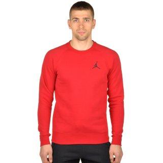 Кофта Nike Men's Jordan Flight Fleece Crew Sweatshirt - фото 1