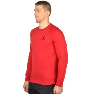 Кофта Nike Men's Jordan Flight Fleece Crew Sweatshirt - фото 2