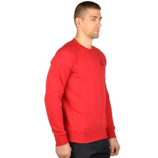 Кофта Nike Men's Jordan Flight Fleece Crew Sweatshirt - фото 4