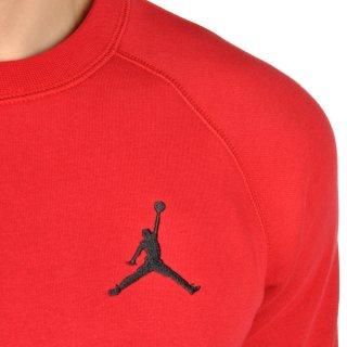 Кофта Nike Men's Jordan Flight Fleece Crew Sweatshirt - фото 5