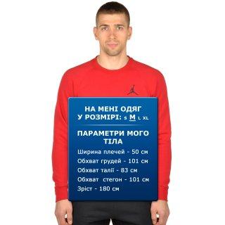 Кофта Nike Men's Jordan Flight Fleece Crew Sweatshirt - фото 6