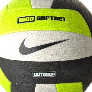 М'яч Nike 1000 Softset Outdoor Volleyball Inflated With Box Volt/White/Black - фото 2