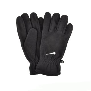 Рукавички Nike Fleece Gloves M Black/White - фото 1