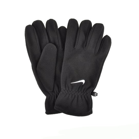Рукавички Nike Fleece Gloves M Black/White - фото