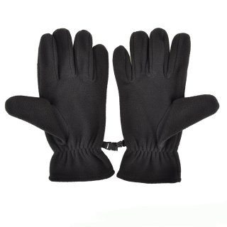 Рукавички Nike Fleece Gloves M Black/White - фото 2