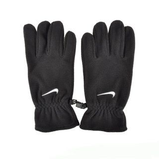 Рукавички Nike Fleece Gloves M Black/White - фото 3
