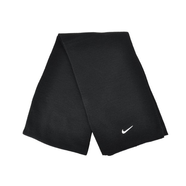 Шарф Nike Knitted Scarf Black/White - MEGASPORT