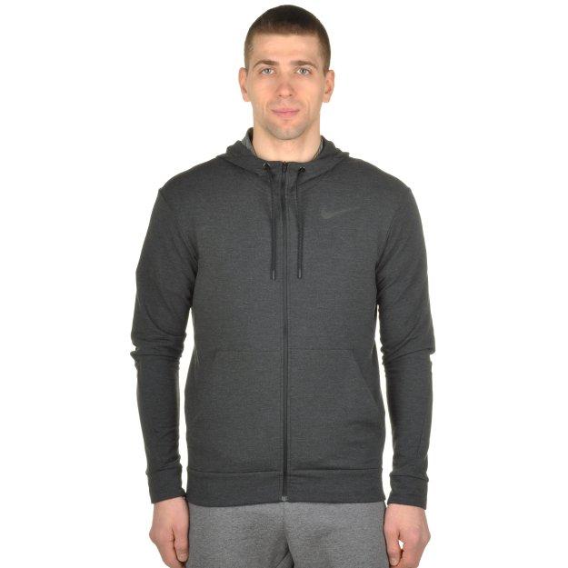 Кофта Nike Dri-Fit Training Fleece Fz Hdy - MEGASPORT
