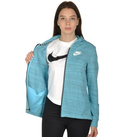 Кофта Nike W Nsw Av15 Jkt Knt - 99249, фото 5 - интернет-магазин MEGASPORT