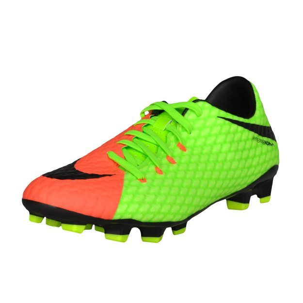 Бутсы Nike Men's Hypervenom Phelon III (FG) Firm-Ground Football Boot - MEGASPORT