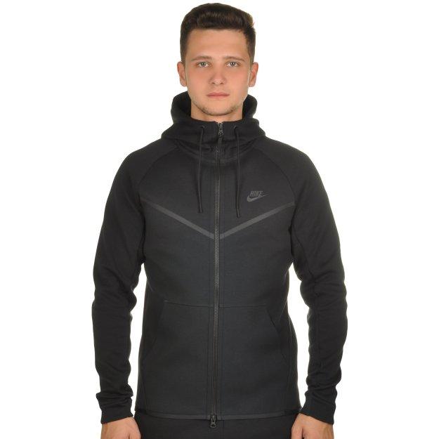 Кофта Nike M Nsw Tch Flc Wr Hoodie Fz - MEGASPORT