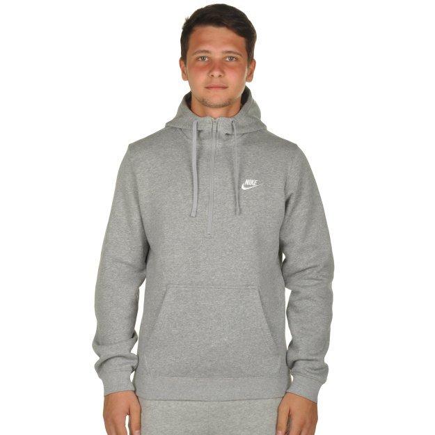 Кофта Nike M Nsw Hoodie Hz Flc Club - MEGASPORT