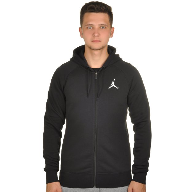 Кофта Nike Men's Jordan Flight Fleece Full-Zip Hoodie - MEGASPORT