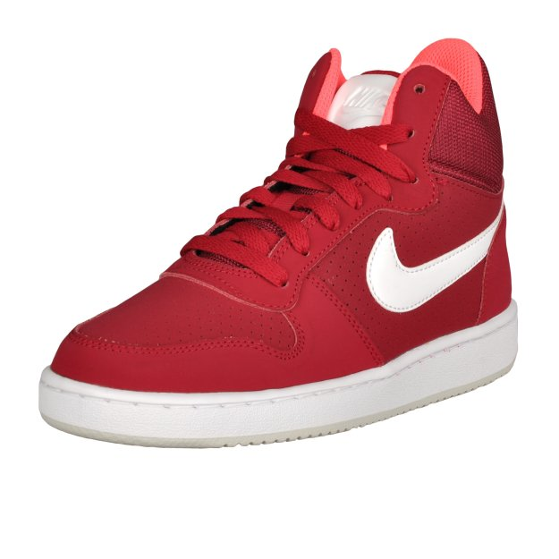 Кеды Nike Court Borough Mid Shoe - MEGASPORT