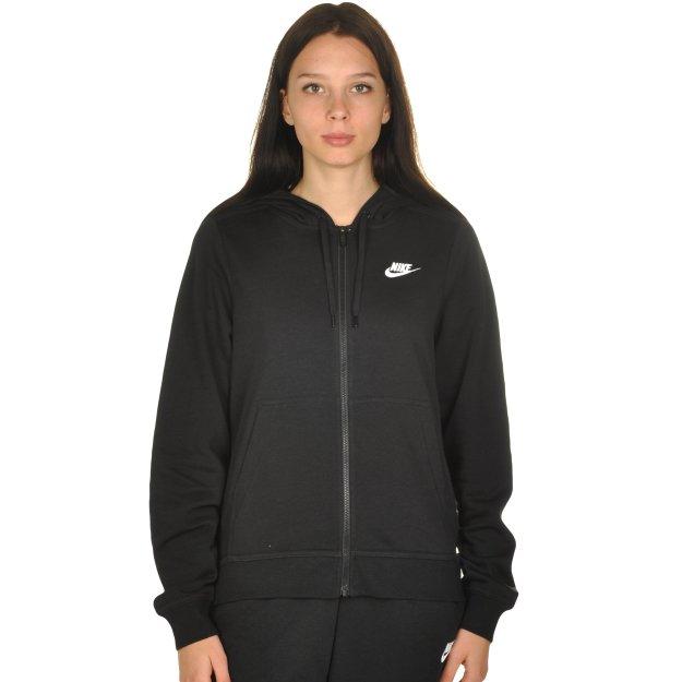 Кофта Nike W Nsw Hoodie Fz Flc - MEGASPORT