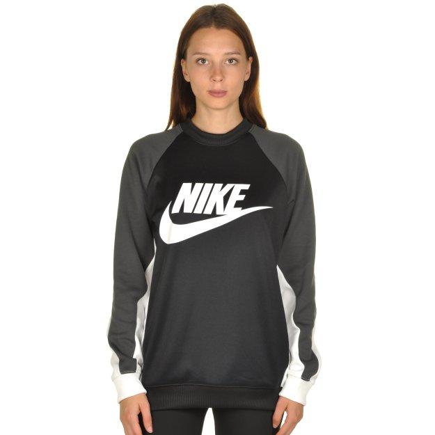 Кофта Nike W Nsw Crw Pk Cb - MEGASPORT