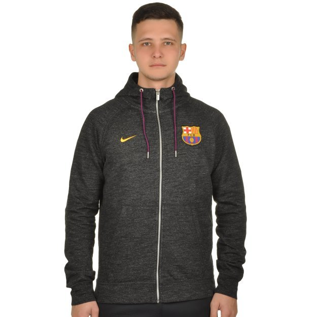 Кофта Nike FCB M Nsw Hoodie Fz Ft Aut - MEGASPORT