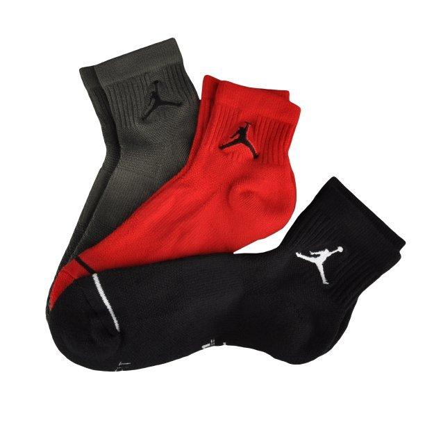 Шкарпетки Nike Unisex Jordan Jumpman High-Intensity Quarter Sock (3 Pair) - MEGASPORT