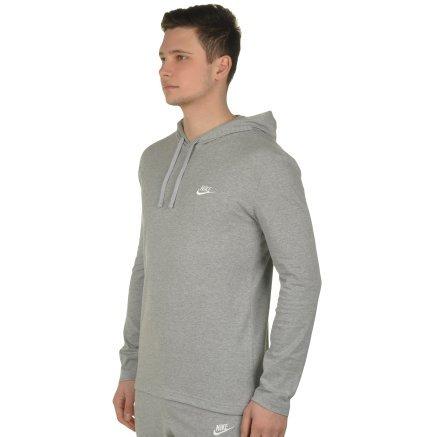 Кофта Nike M Nsw Hoodie Po Jsy Club - 108507, фото 2 - интернет-магазин MEGASPORT