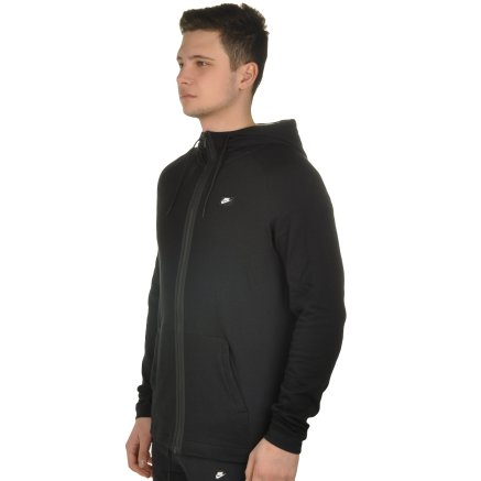 Кофта Nike M Nsw Modern Hoodie Fz - 108512, фото 2 - интернет-магазин MEGASPORT