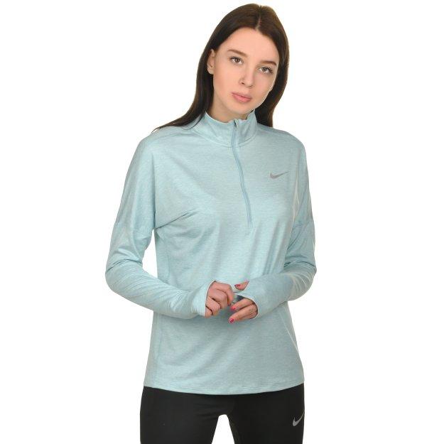 Кофта Nike W Nk Dry Elmnt Top Hz - 108526, фото 1 - интернет-магазин MEGASPORT