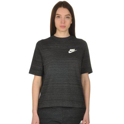 Футболка Nike W Nsw Av15 Top Ss Knt - 108559, фото 1 - интернет-магазин MEGASPORT