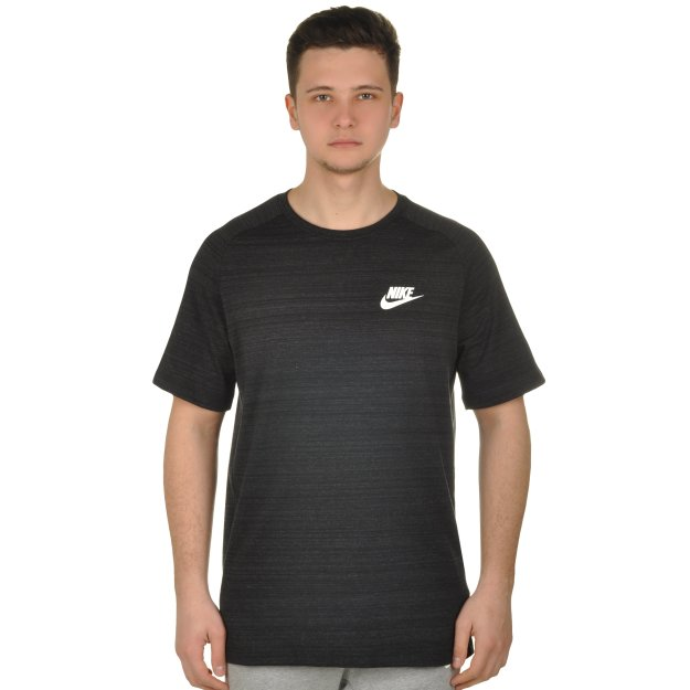 Футболка Nike M Nsw Av15 Top Knit Ss - 108566, фото 1 - интернет-магазин MEGASPORT