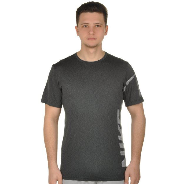 Футболка Nike M Nk Brthe Top Ss Hypr Dry Gfx - MEGASPORT