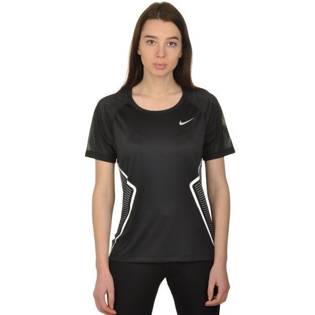 Футболка Nike W Nk Dry Miler Top Ss Gx - MEGASPORT