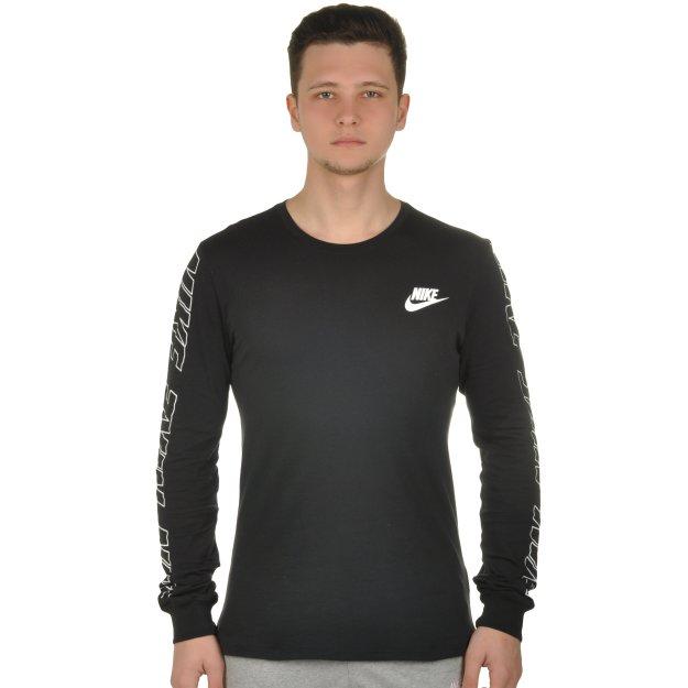 Футболка Nike M Nsw Tee Ls Av15 3 - MEGASPORT