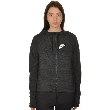 Кофта Nike W Nsw Av15 Jkt Hd Knt - 108640, фото 1 - интернет-магазин MEGASPORT