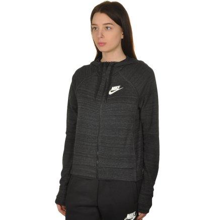 Кофта Nike W Nsw Av15 Jkt Hd Knt - 108640, фото 2 - интернет-магазин MEGASPORT
