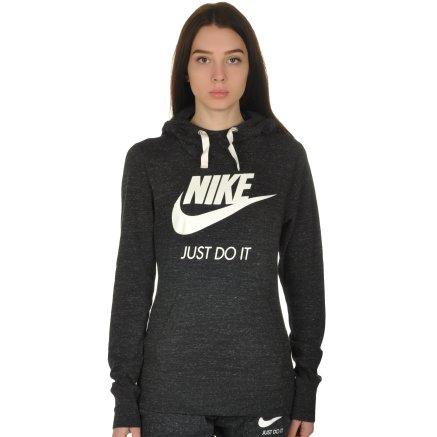 Кофта Nike W Nsw Gym Vntg Hoodie Hbr - 108650, фото 1 - интернет-магазин MEGASPORT
