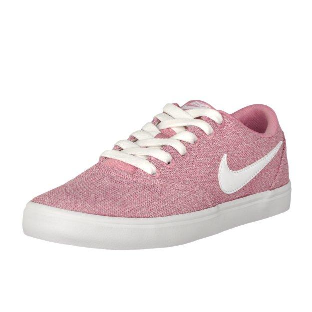 Кеди Nike Women's Sb Check Solarsoft Canvas Premium Skateboarding Shoe - 108482, фото 1 - інтернет-магазин MEGASPORT