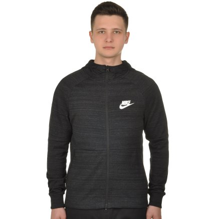 Кофта Nike M Nsw Av15 Hoodie Fz Knit - 108655, фото 1 - інтернет-магазин MEGASPORT