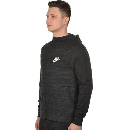 Кофта Nike M Nsw Av15 Hoodie Fz Knit - 108655, фото 2 - інтернет-магазин MEGASPORT