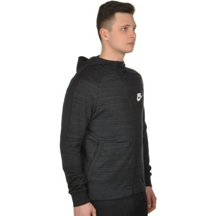 Кофта Nike M Nsw Av15 Hoodie Fz Knit - 108655, фото 4 - интернет-магазин MEGASPORT