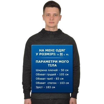 Кофта Nike M Nsw Av15 Hoodie Fz Knit - 108655, фото 8 - інтернет-магазин MEGASPORT