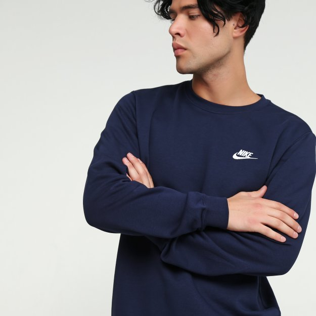 Кофта Nike M Nsw Club Crw Ft - 99528, фото 1 - інтернет-магазин MEGASPORT